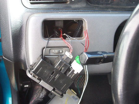 oem cruise control swap main switch wired to dimmer