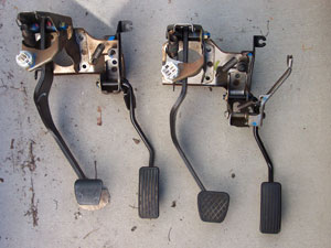 oem cruise control swap cruise and non cruise pedal assemblies compared