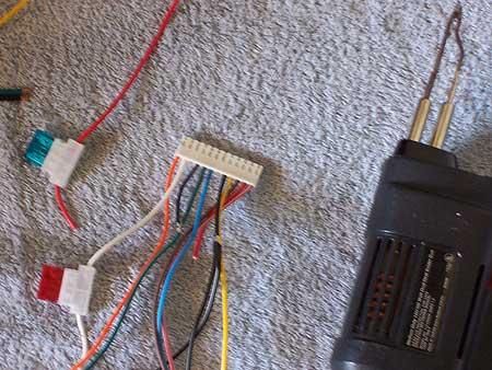 prep the wire harness