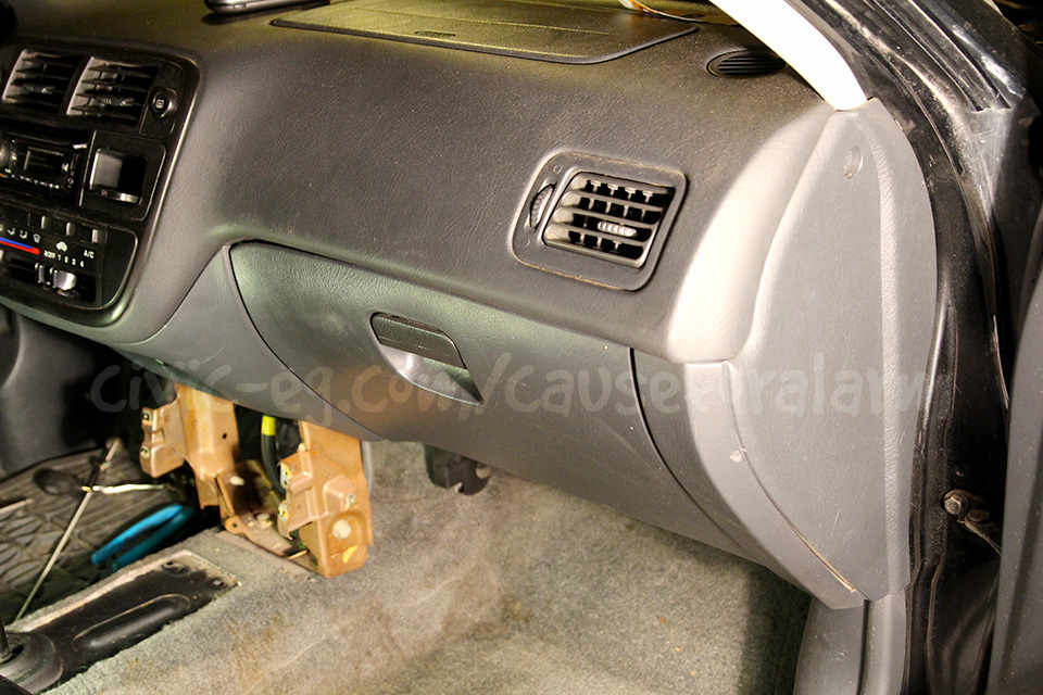 Honda Civic Glove Box Latch 1996-2000 Glovebox Brown