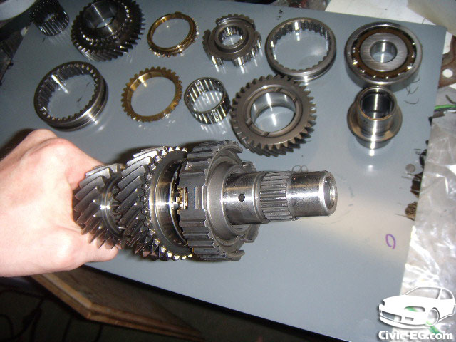 Civic EG View topic - How to Rebuild your Civic's Mainshaft